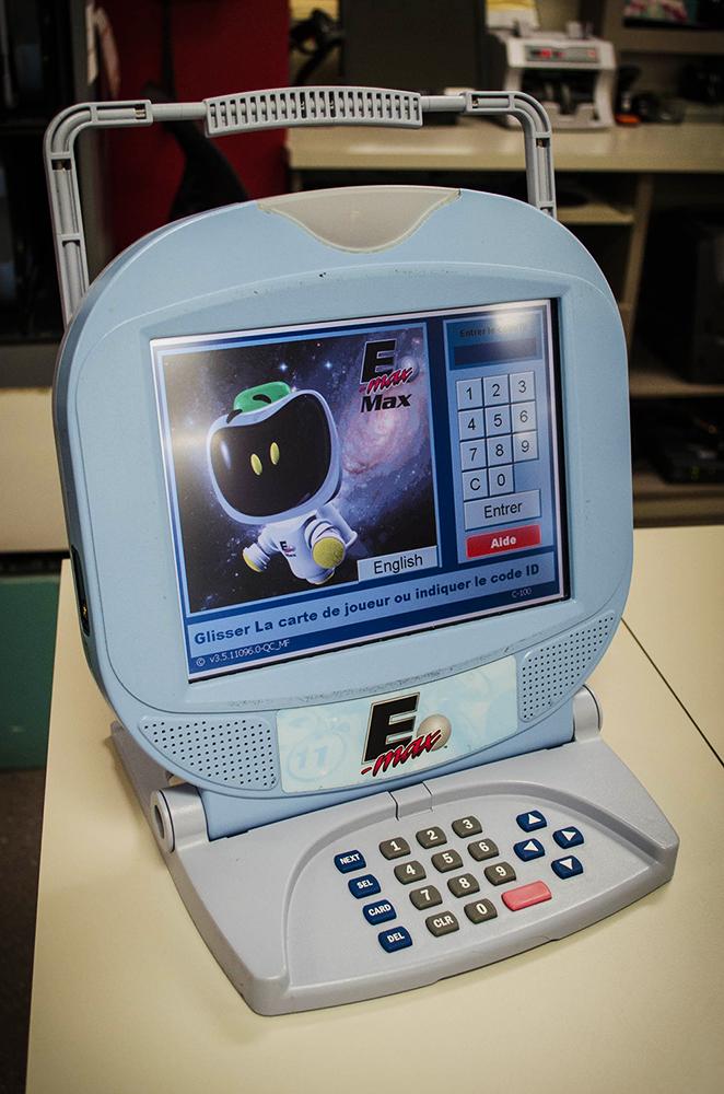 ordinateur de jeu de bingo